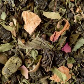 Thé vert aromatisé - 1,2,3 Je m'en vais au bois