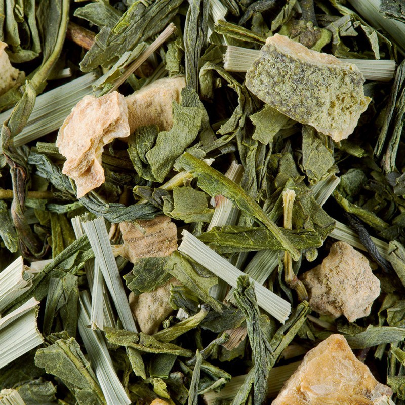 thé vert fidji vert