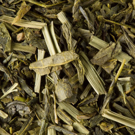 thé vert jaune lemon