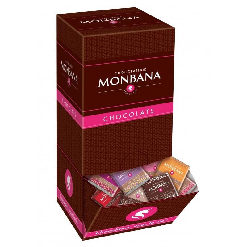 Coffret carrés chocolat 10...