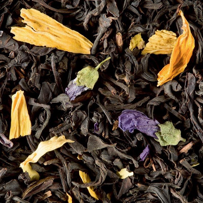 thé mélange mystérieux