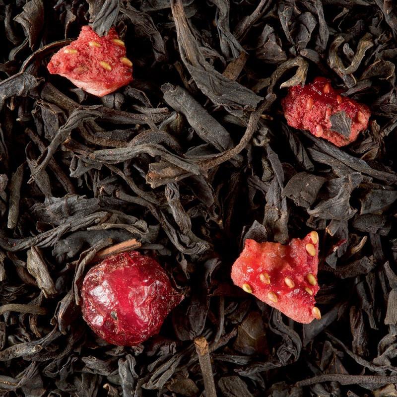 thé 4 fruits rouges