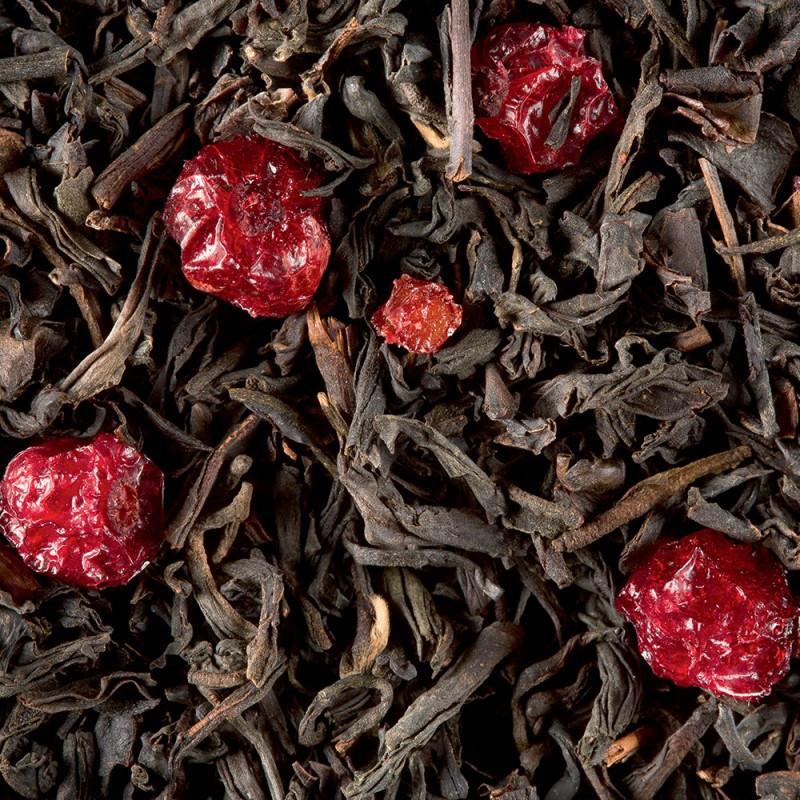 thé trois fruits noirs