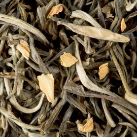 thé blanc d oranger