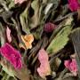 thé pêchers en fleurs