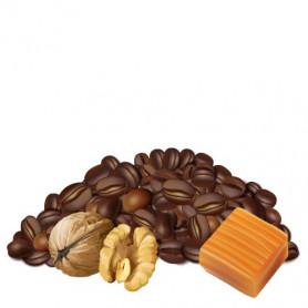 Caramel et noix