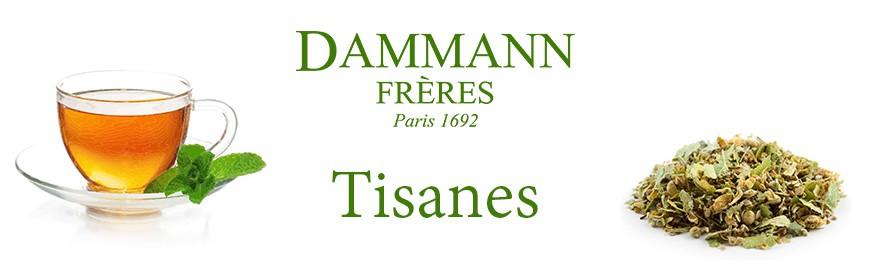 Grand choix de Tisanes de la maison Dammann Frères chez Secret des Arômes