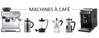 Machines à café automatiques, filtres, piston, etc