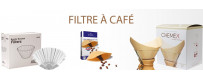 Filtres à café sur le Salon du café