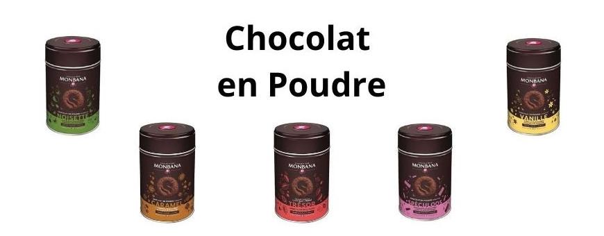 Chocolat en poudre Monbana - Secret des Arômes