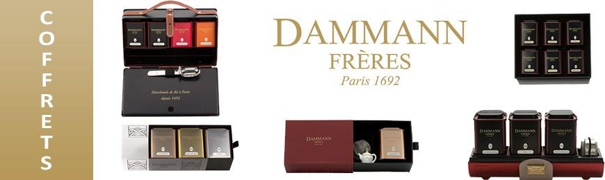 Grand choix de coffrets cadeaux Dammann Frères - Secret des Arômes