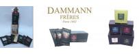 Grand choix de thés en sachet cristal Dammann Frères