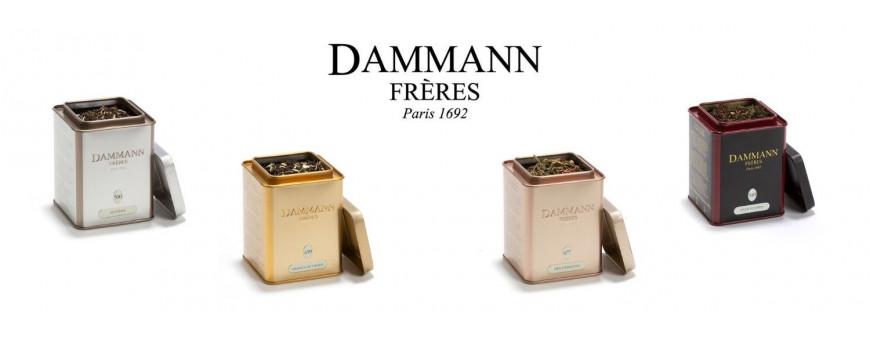 Découvrez nos thés en boite métal Dammann Frères
