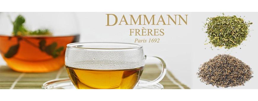 Vente de thés blanc en sachet Dammann Frères - Secret des Arômes