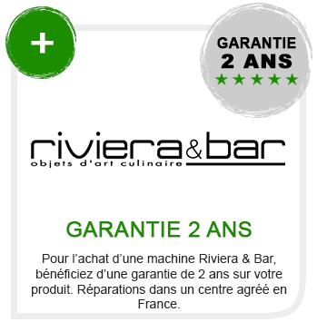 Garantie riviera et bar